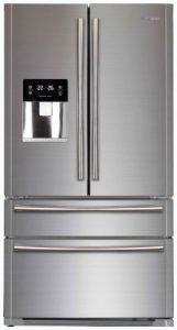 Морозильная и холодильная камера в холодильниках Side by Said, расположены параллельно друг другу, такой холодильник имеет вид двухдверного шкафа.