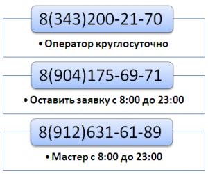 Телефон ремонт холодильника Белоярский район