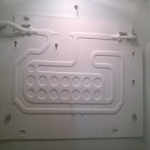 Замена установка испарителя холодильника