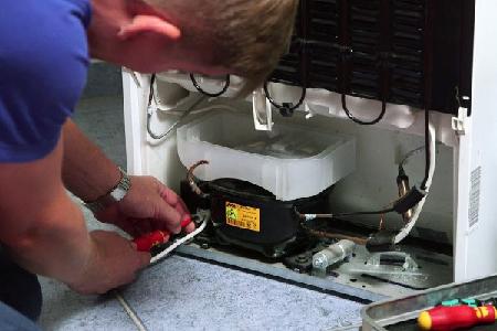 Замена компрессора