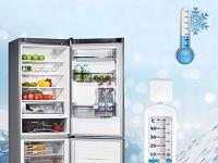 Температура вокруг холодильника